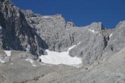 Der Ferner und dahinter der Klettersteig