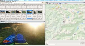 Mit Geosetter z. B. könnt ihr die GPS-Tags eurer Fotos auslesen und anzeigen lassen.