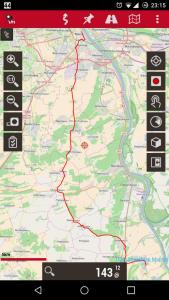 GPS-Tracking mit Oruxmaps
