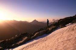 Bergsteigen am Allalinhorn