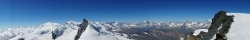 Das Panorama vom Gipfel