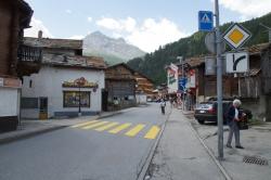 Das kleine Dorf Saas-Grund