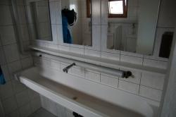 Der Herren-Waschraum auf der Britannia