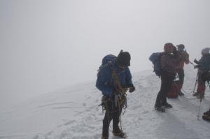 Flo auf dem Gipfel des Breithorns