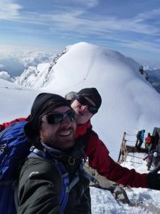 Das Team Abenteuersuechtig.de auf dem Balmenhorn