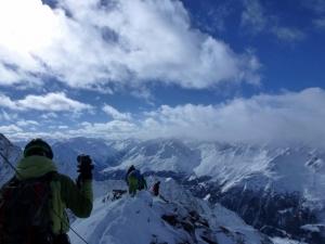 Gipfelgrätle Kuhscheibe