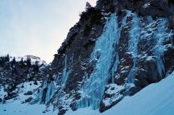 Der Gaisalp-Wasserfall