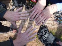 Das Ergebnis von zwei Tagen Kletterei in der Pfalz