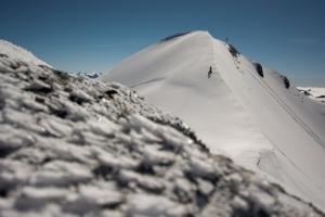 Nur noch ein paar Meter bis zum Gipfel