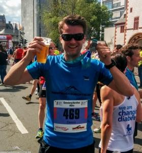 Gloryfy G3 devil blue beim Marathon