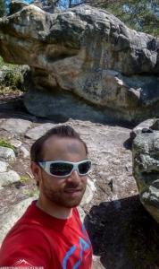 Gloryfy G3 polar beim Bouldern