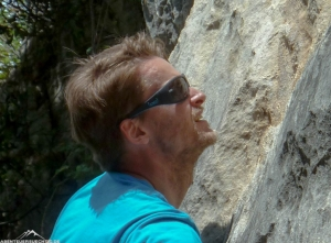 Gloryfy G3 devil blue bei Klettern
