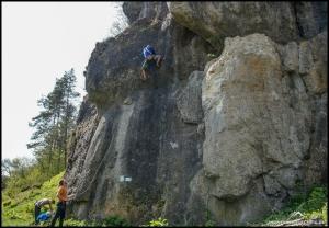Vollgas beim Klettern geben, da bietet sich die Fränkische Schweiz an.