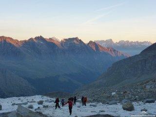 Morgenstimmung am Gletscher
