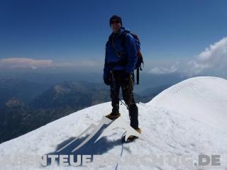 Gipfel Weissmies Flo