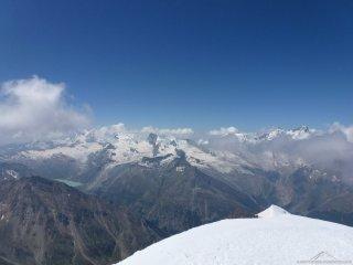Gipfelaussicht Weissmies 3