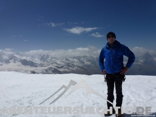 Gipfel Alphubel Flo