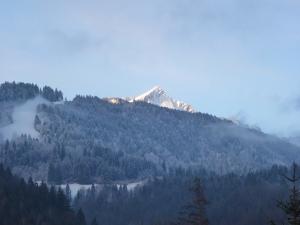Morgenerwachen über der Alpspitze