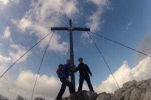 Am Gipfel des Gimpel