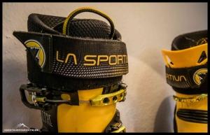 Einstiegslasche des La Sportiva Spectre