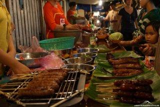 Der Foodmarket am Abend