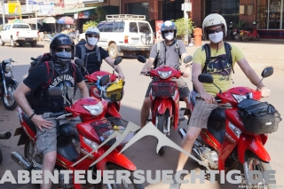 Auf geht's zur Mopedtour
