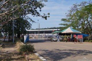 Grenzübergang von Laos nach Thailand