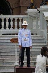 Palastwache im Grand Palace