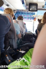Busfahrt nach Pakse