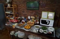 Das Frühstückbüffet in Chiangrai
