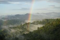 Regenbogen nach dem Schauer
