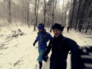 Das Team Abenteuersuechtig.de beim Trailrunning im Taunus