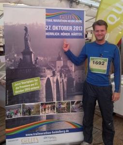 Damit fing's an, der Trail Marathon Heidelberg