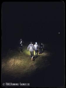 Trailrunning im Taunus.