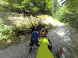 Gruppen-Selfie