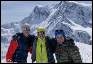 Die drei Gipfelaspiranten