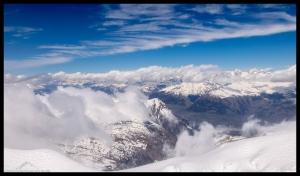 Aussicht Breithorn