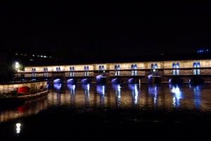 Straßburg at night