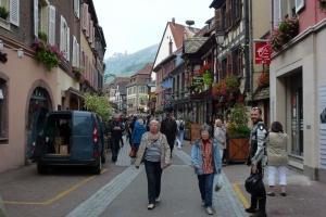 Touristisch aber schön - Ribeauville
