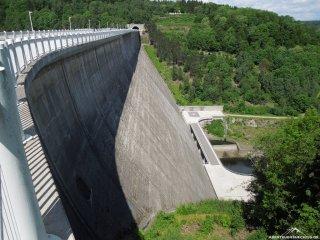Staudamm Talsperre Wendefurth