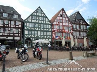 Fachwerkdörfchen in der Nähe von Kassel