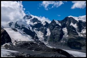 Unser gestriger Tourenverlauf - der Biancograt