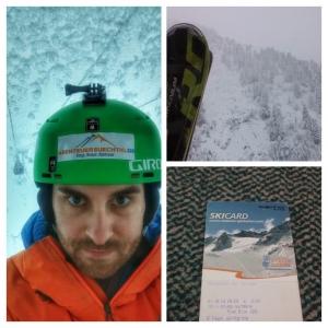 Rainy Skiing