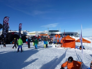 Areal Gletscher Testival 2014
