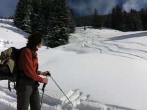 Wenn der Ausblick mal kein Grund für einen Aufstieg mit Skiern ist...