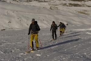 Auf geht's, immer schön den Berg rauf. Foto: adidas