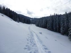 Hochtal im Aufstieg Großer Ochsenkopf