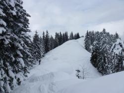 Skitouren Gipfelgrat Rangiswanger Horn