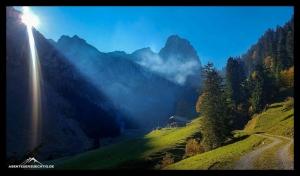 Talgrund und der Gipfel des Stockhorns