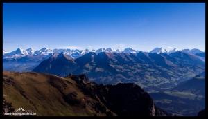 Eiger, Mönch, Jungfrau, Fiescherhörner, Walliser...gigantisch!